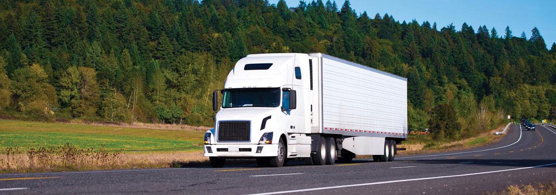Transport de produit alimentaire par camion réfrigéré